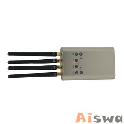 Portable Mini Mobile Signal Jammer (GSM CDMA DCS PHS 3G TD-SCDMA) 2