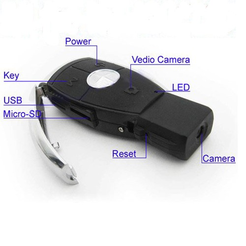 Benz Keychain camera 1