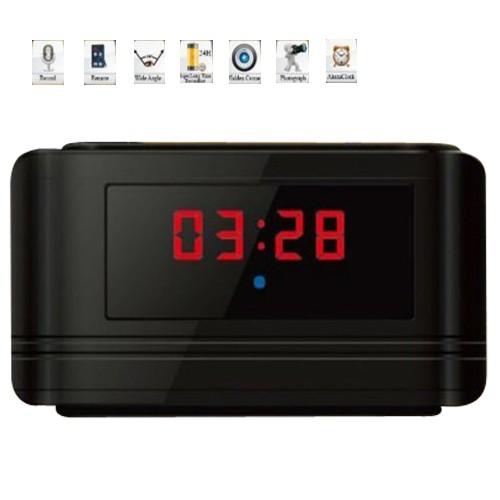 Clock hidden camera