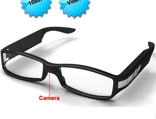 Glasses camera DVR