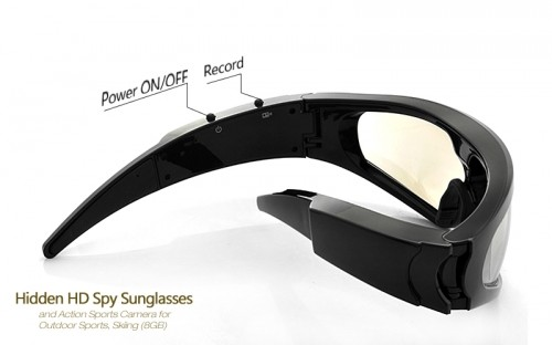 Skiing Spy Sunglasses 2