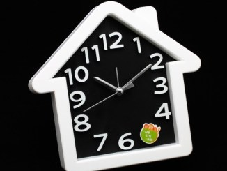 Triangle alarm clock