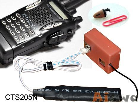 Walkie-talkie wireless headset