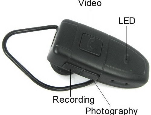 Bluetooth Hidden Camera