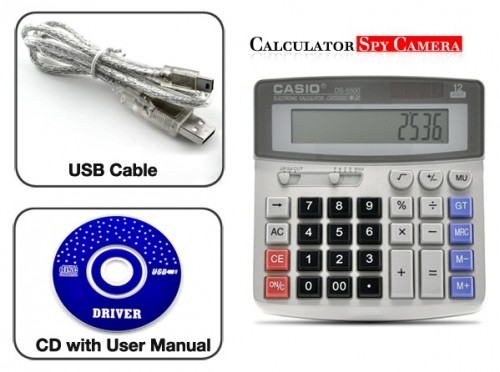 Hidden Spy Camera Calculator 2