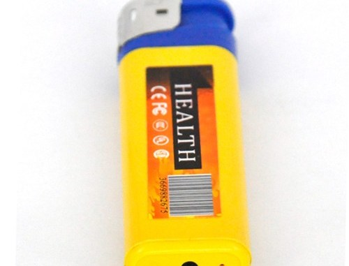 Mini fake lighter camera