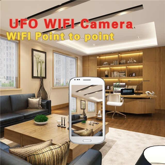 Table Clock Wireless Wifi Camera 4