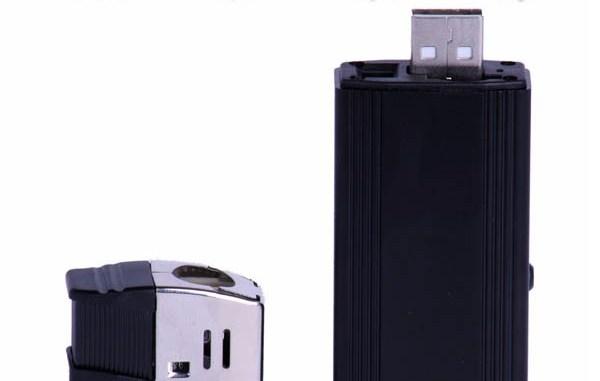Video Camera with Flashlight