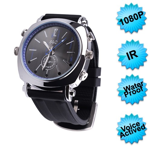 Voice Activation watch camera