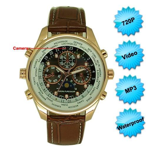 Worldwild Time watch spy camera