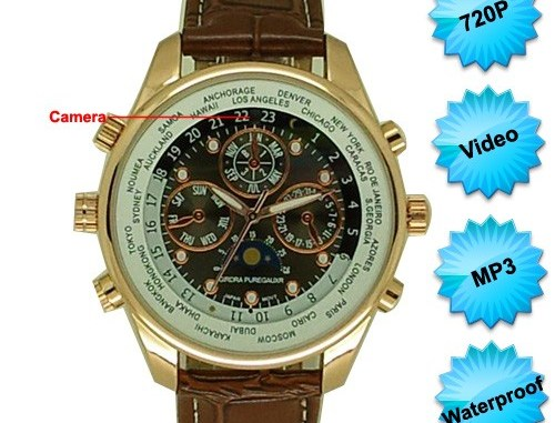 Worldwild Time watch spy camera