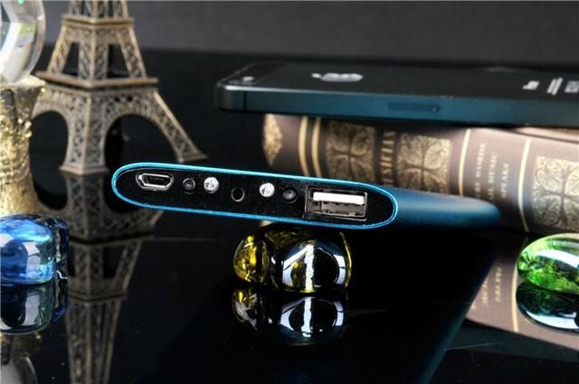 Multi-color power bank camera
