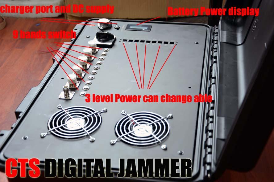 9 bands digital jammer