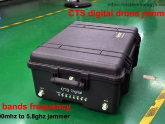new 9 bands anto drone jammer