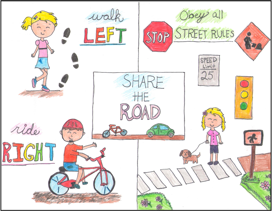 Roadway Safety Poster Contest For Children