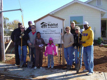 Habitat for Humanity Tree Planting Blitz