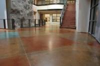 Interior Floor - Concrete TexturingConcrete Texturing