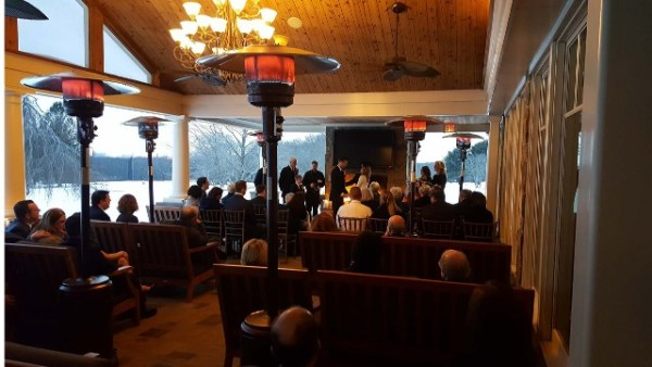 CT Wedding DJ - J&S Entertainment - onsite ceremony sound production