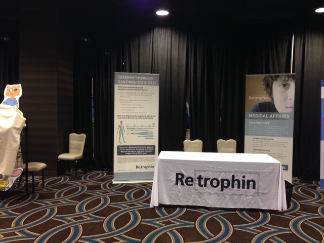 Retrophin Booth