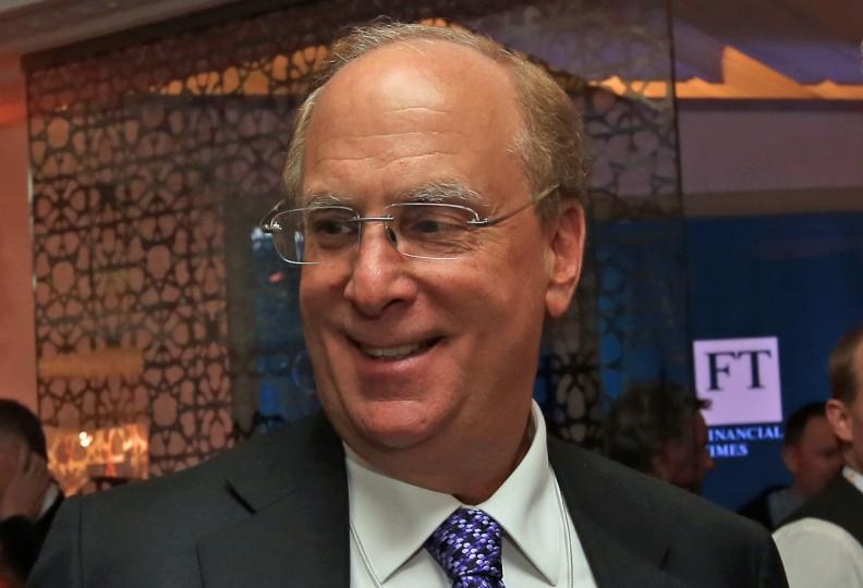 <p>Laurence <em>Larry</em> Fink, director general de Blackrock.</p>