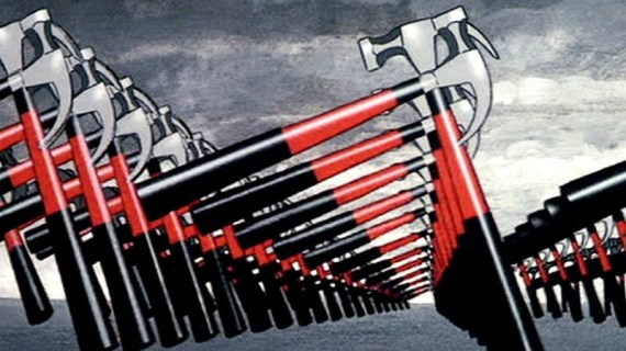 <p>Fotograma de <em>The Wall</em> (1982).</p>