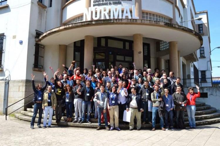 Foto Encuentro 14 organizado en A Coruña por CUAC FM