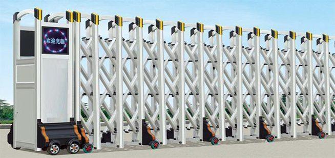 11 8 - Lắp đặt cửa cổng xếp tại Long Thành Đồng Nai
