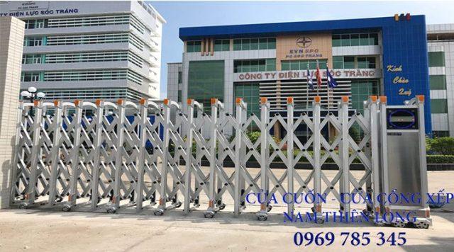 15 - Sửa chữa cửa cổng xếp tự động tại Đồng Nai - Lắp cổng xếp công ty