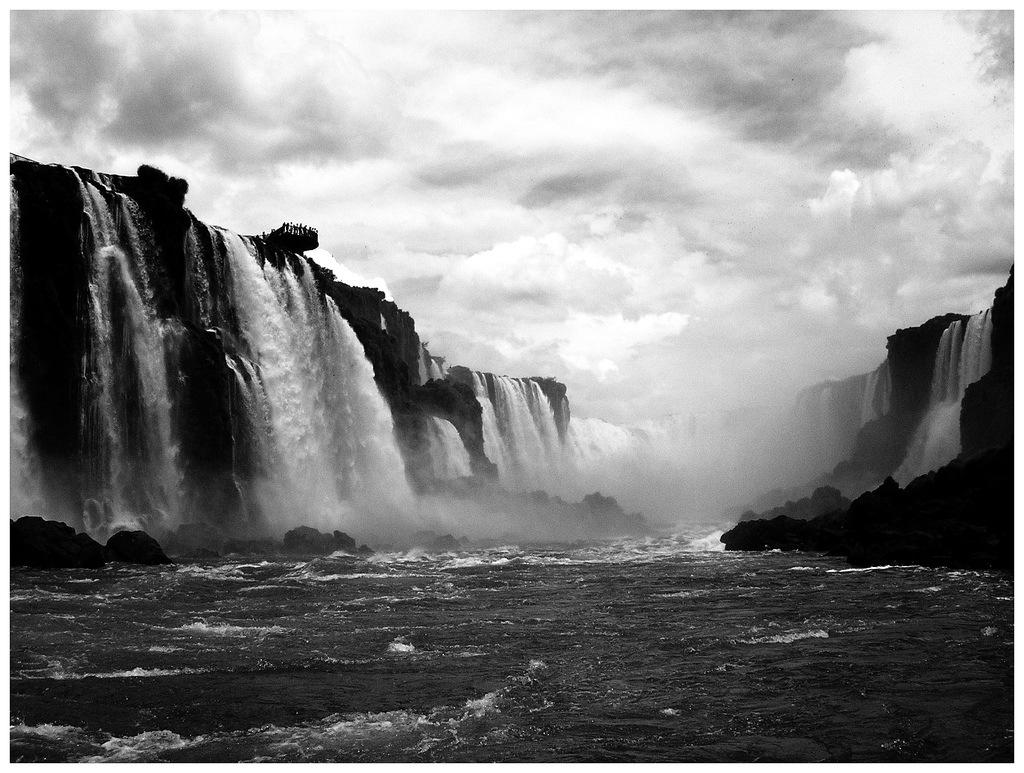 Victoria Falls Wallpapers High Resolution Blanco Y Negro Cuadratufoto