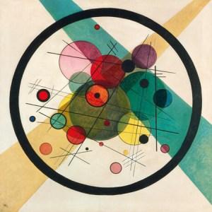 1WK4635 - WASSILY KANDINSKY - Circles in a circle