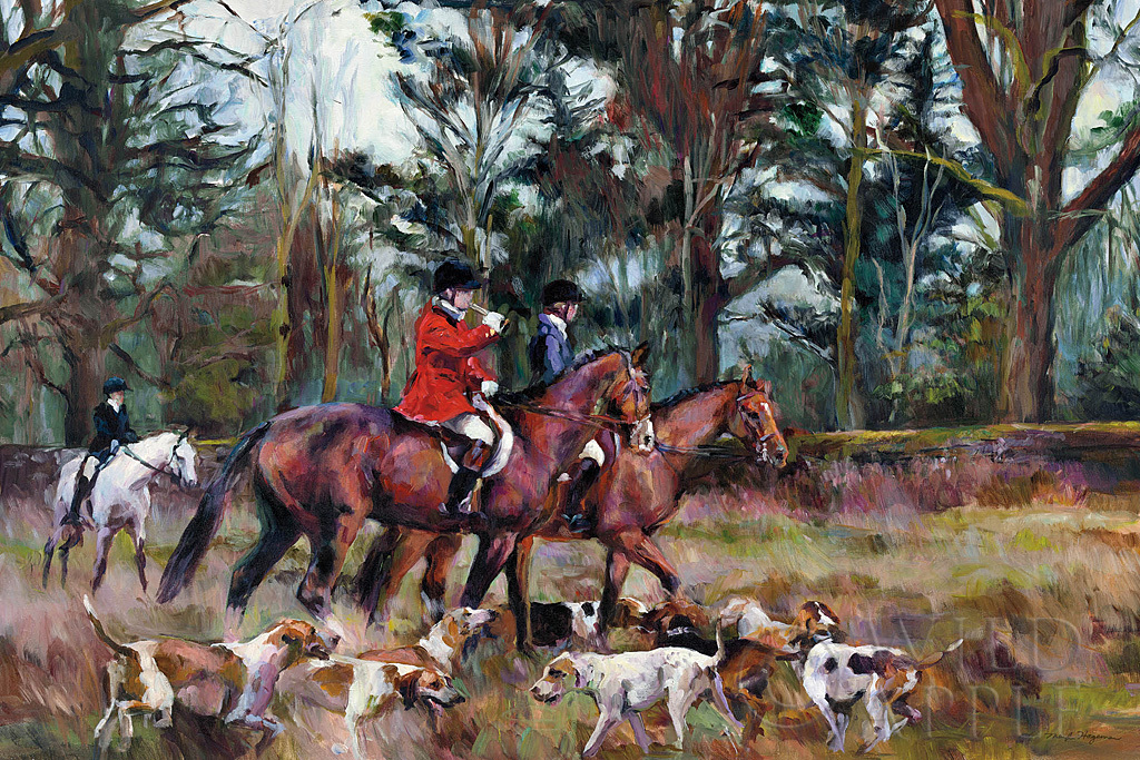 W21539 - Marilyn Hageman - Fox Hunt