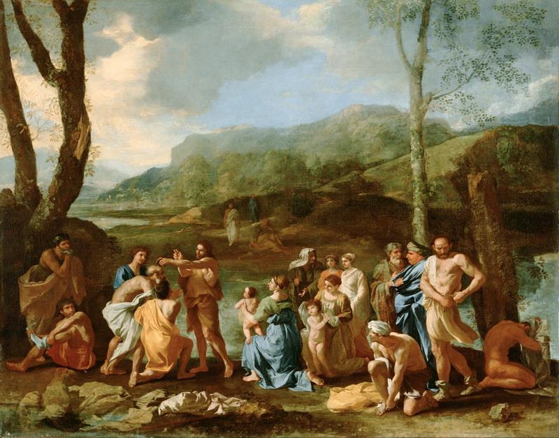 Resultado de imagen de San Juan Bautista en el río Jordán.
