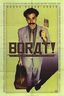 Cartel Borat película