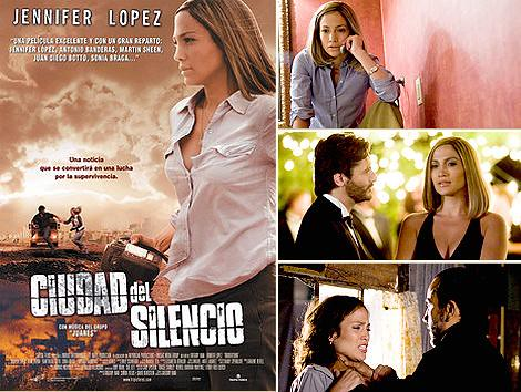Ciudad de Silencio Bordertown cartel película movie