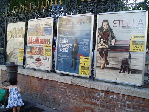Películas para ver en la Piazza Vitttorio