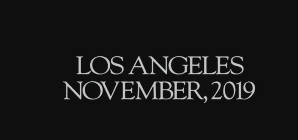 Los Ángeles Noviembre de 2019 Blade Runner