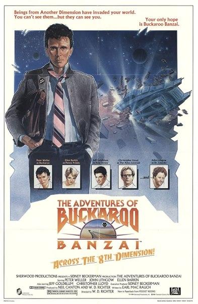 Las aventuras de Bukaroo Banzai a través de la octava dimensión