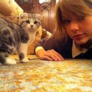Taylor-Swift-y-su-gato
