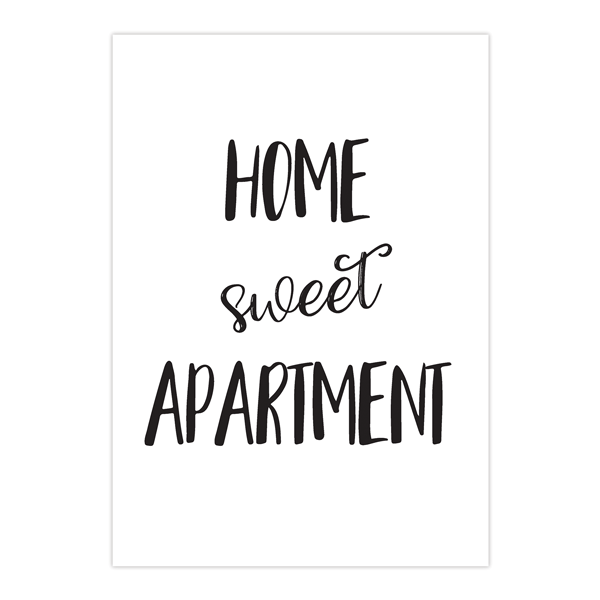 Home Sweet Apartment Art Print Great