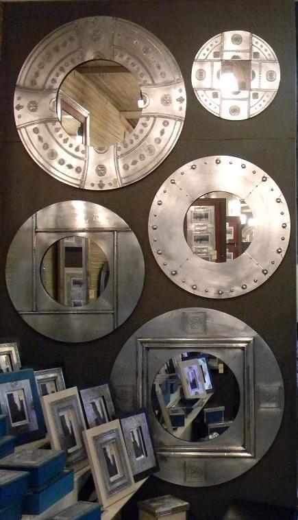 Espejos redondos y octogonales  CUNTICO