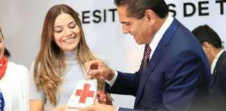 Silvano Aureoles Cruz Roja