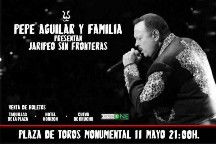 Pepe Aguilar y Familia Morelia