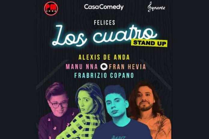 Los Cuatro Stand Up Morelia