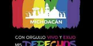 marcha LGBTTTI Morelia