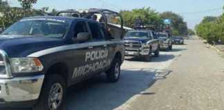 operativo Policia Michoacan