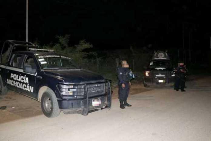 operativo patrullas Policia Michoacan