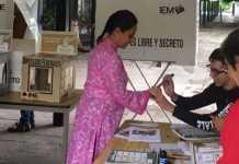 Luisa Maria Calderon Cocoa voto