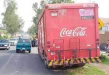 camion Coca Cola normalistas