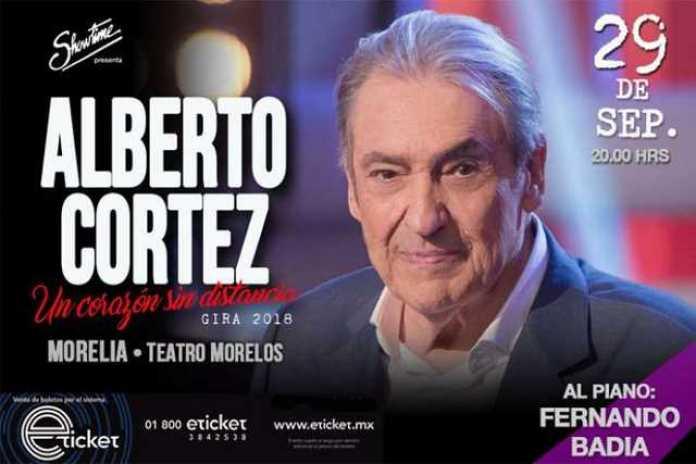 Alberto Cortez Morelia