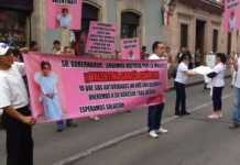 protesta pequeña Valentina